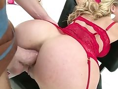Awesome Well Packed Cherie Deville Is Blessed To Take Dick Into Butt