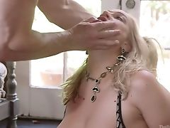 Big Bottomed Blonde Mummy Is Cruelly Analfucked By Thrilled John Strong