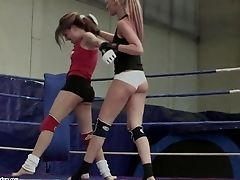 Behind The Scenes Of G/g Fighters Milky Angel And Leyla Black