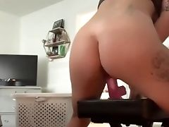 Taking All My Faux-cock While I Have Fun With My Pleasure Button
