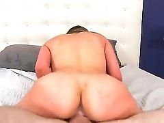 Hot Dark-haired Carmen Caliente Is Getting Fucked By Her Bf In The Mouth And Vagina