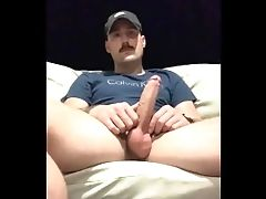 Recording Himself Playing With His Dick Outside