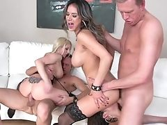 Mark Wood Is One Hard-dicked Dude Who Loves Oral Bang-out With Chica Christie Stevens Before Bum Fuck-hole Fucking