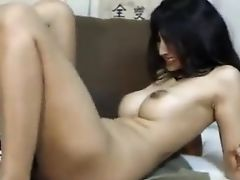 Indian Webcam Mummy Made To Spunk By A Faux-cock Fuck Machine