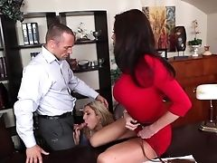 Marcus London Admires Amazingly Hot Veronica Avluv's Assets Before She Takes His Implement In Her Mouth