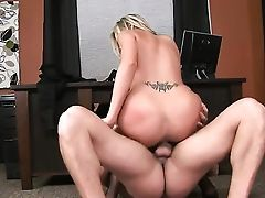Tattooed Darcy Tyler With Massive Milk Cans And Slick Cunt Drops On Her Knees To Take Ramon Nomars Dick In Her Mouth