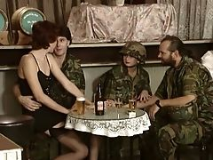Sweet And Beautiful Youthful Soldier Gal Is Greedy For A Dick