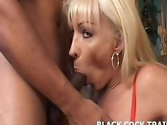 His Big Black Bone Is Going To Spread My Tranny Booty