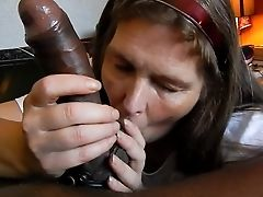 Beautiful Big Black Hard-on Blowage 25