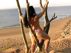 Nude Beach Photo Shoot - Behind The Scenese