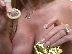Sandy-haired Darla Crane Gets A Good Interracial Honeypot Fuck In Hard-core Activity With Horny Man