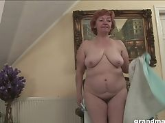 Pleasing Herself Is Joy For Matures Puckered Whore With Big Culo