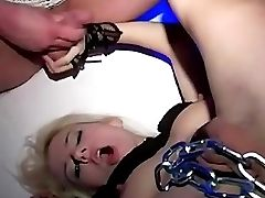 Rough Blonde In Stunning Groupsex