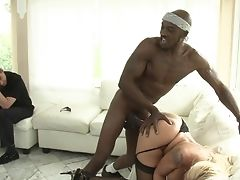Hump Obsessed Gal With Gigantic Cupcakes And Hard Dicked Dude Are Horny For Each Other In Interracial Xxx Act