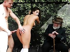Bill Bailey Inserts His Fuck Stick In Horny As Hell Abella Dangers Mouth