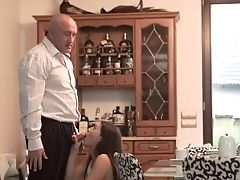 Daddy4k. Cunning Man Takes Care Of Sweet Gal Who Was Angry