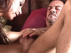 Randy Spears Uses His Pulsing Ram Cane To Bring Oral Job Maniac Brown-haired Whore Nikita Denise With Humungous Tits To The Edge Of Nirvana