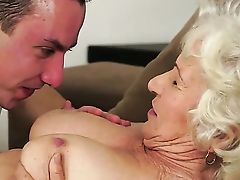 With Fat Breasts Shows Hump Tricks To Horny Boy With Passion